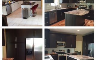 Hartzler Kitchen Before and After